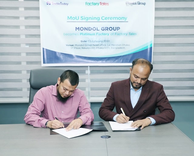 Mondol Group-MoU-corporate-branding-Textile-Today