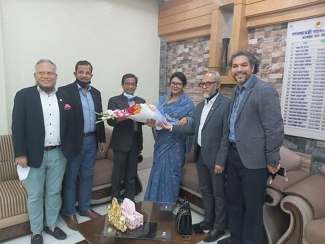BGMEA-courtesy-call-Chittagong-Port-Authority-Customs-Commissioner
