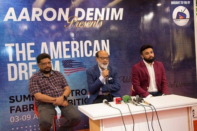 Aaron-Denim-launches -2nd-fabric-exhibition