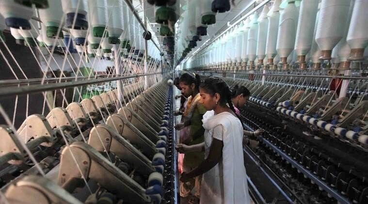 Indian-cotton-yarn-prices-fell