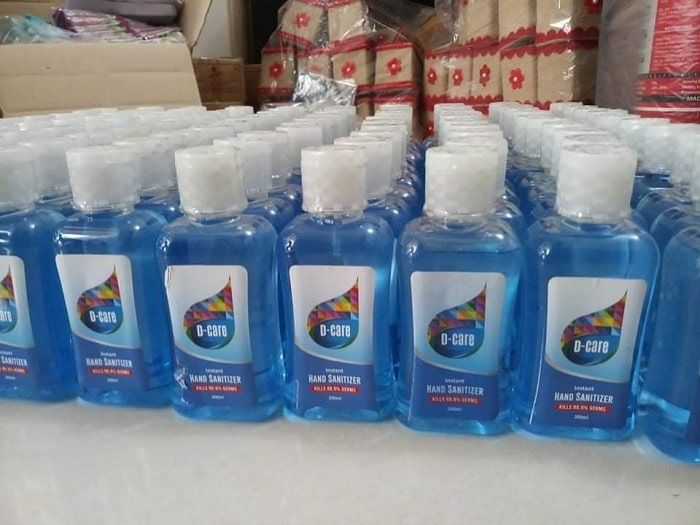 Dysin-Chem-donated-D-Care-hand-sanitizers
