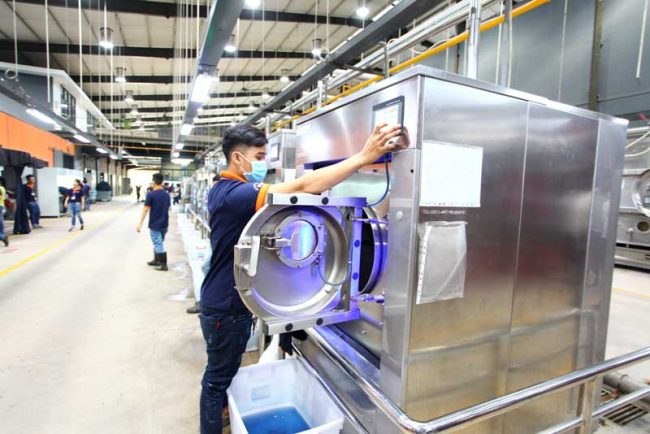 Vietnamese enterprises have invested in improving production capacity.