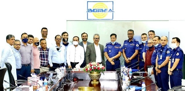 Industrial-Police-chief-meets-BGMEA-president